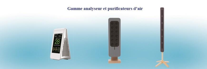 Analyseur et purificateur d'air intérieur pour un air sain au quotidien pour toute la famille